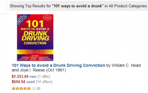 Bubba Head 101 Ways to Avoid a Drunk Driving