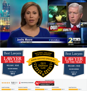DUI Best Voted Lawyers of the Year Board Certified