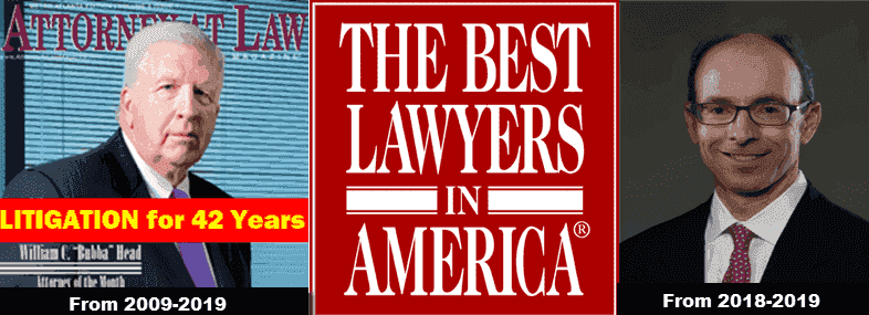 Top-rated Atlanta DUI lawyers Bubba Head and Larry Kohn