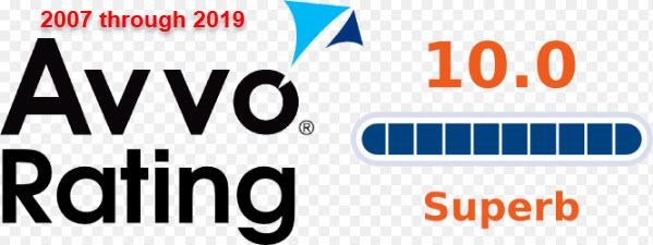 AVVO Rating Cory Yager