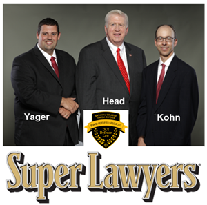 2nd DUI in GA attorneys Cory Yager, Bubba Head, Larry Kohn Super Lawyers ATL