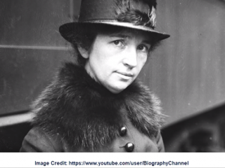 Margaret Sanger, known for her Federal Charges Dropped via Nolle Pros
