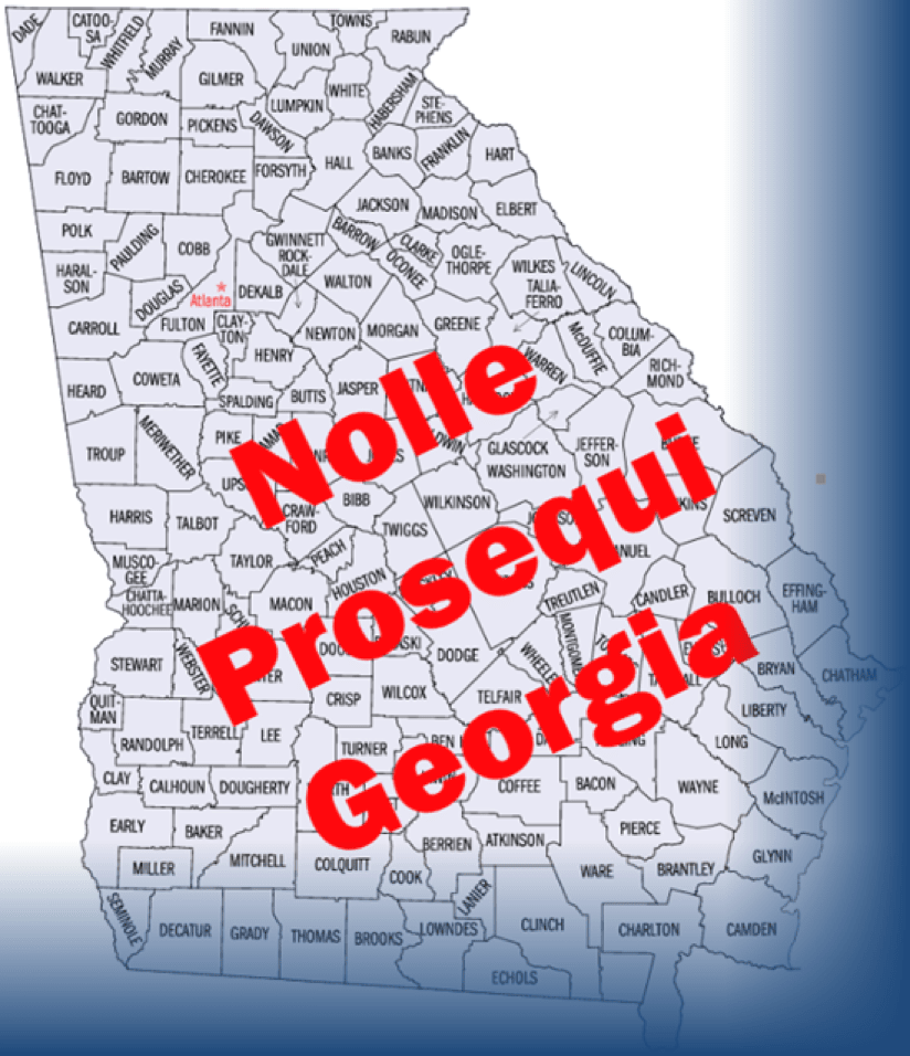 Nolle Prosequi Laws in Georgia and What it Means