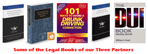 Law Books written by Our DUI Attorneys
