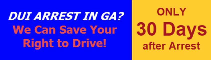 Save your DL GA Arrest