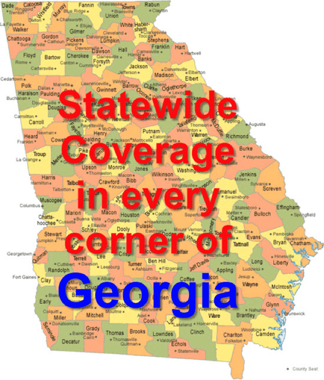 Statewide Coverage DUI