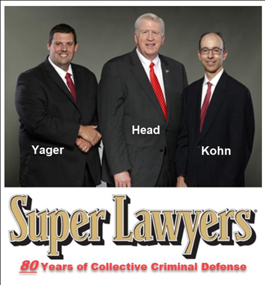 Simple Battery Criminal Lawyers Cory Yager, Larry Kohn, ad Bubba Head